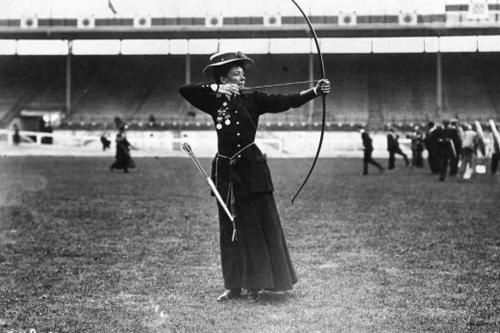 JO de Londres - 1908 catégorie femme