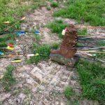 Marmotte Criblée de flèche